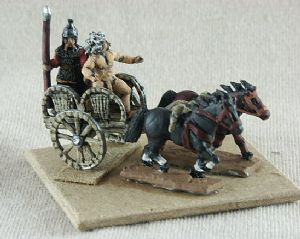 BCH01 Chariot with 2 ponies